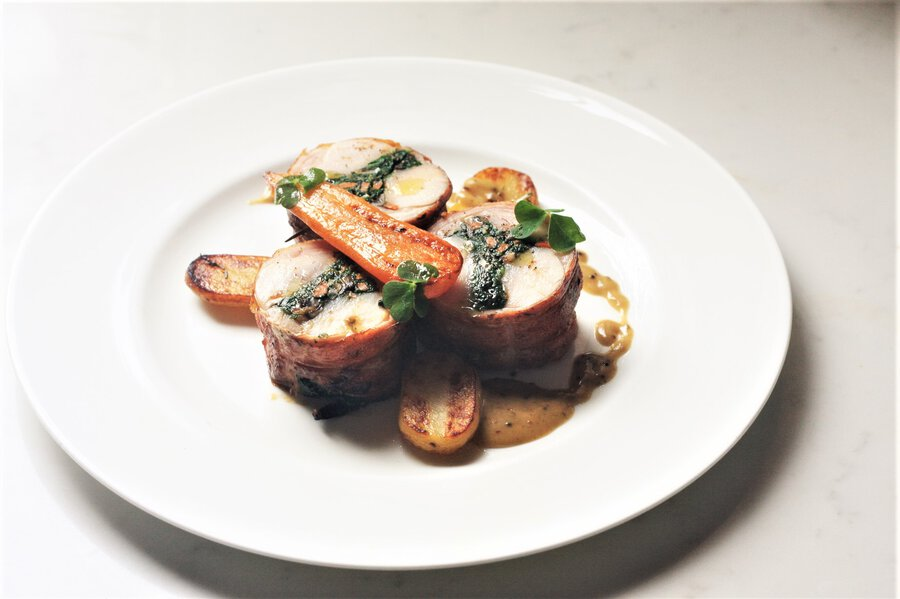 Hearty's Stuffed Rabbit Saddle Image