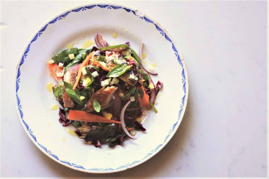 Lockdown Mackerel Salad