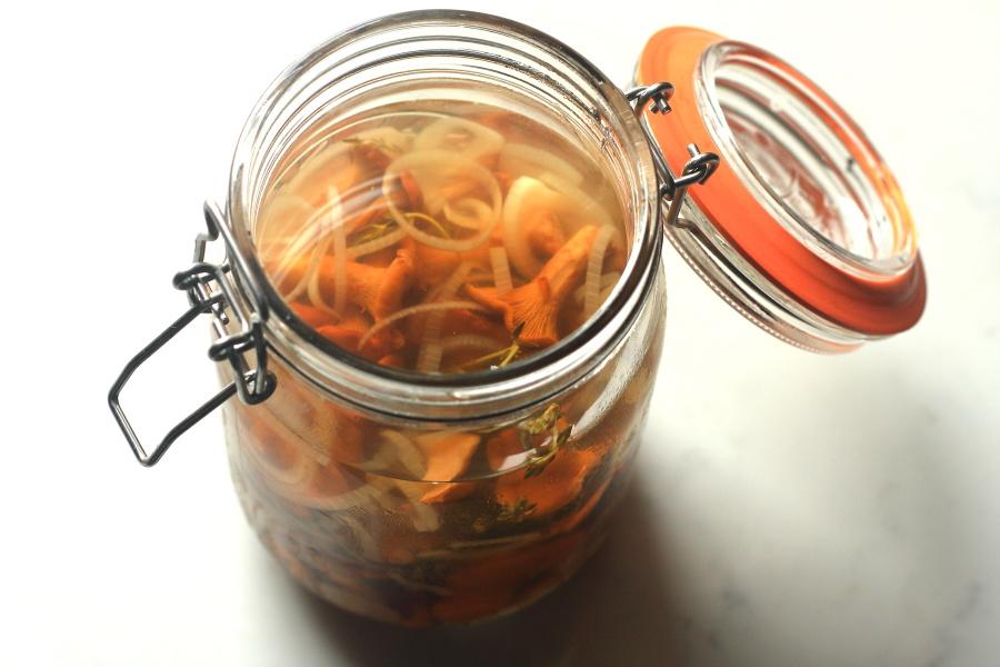 Pickled Girolles Image