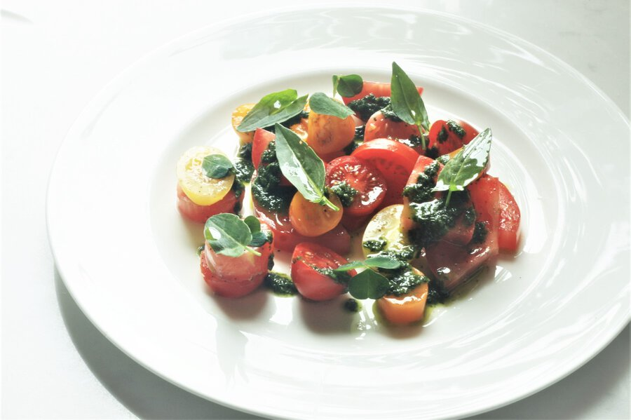 Tomato and Sorrel Salad Image