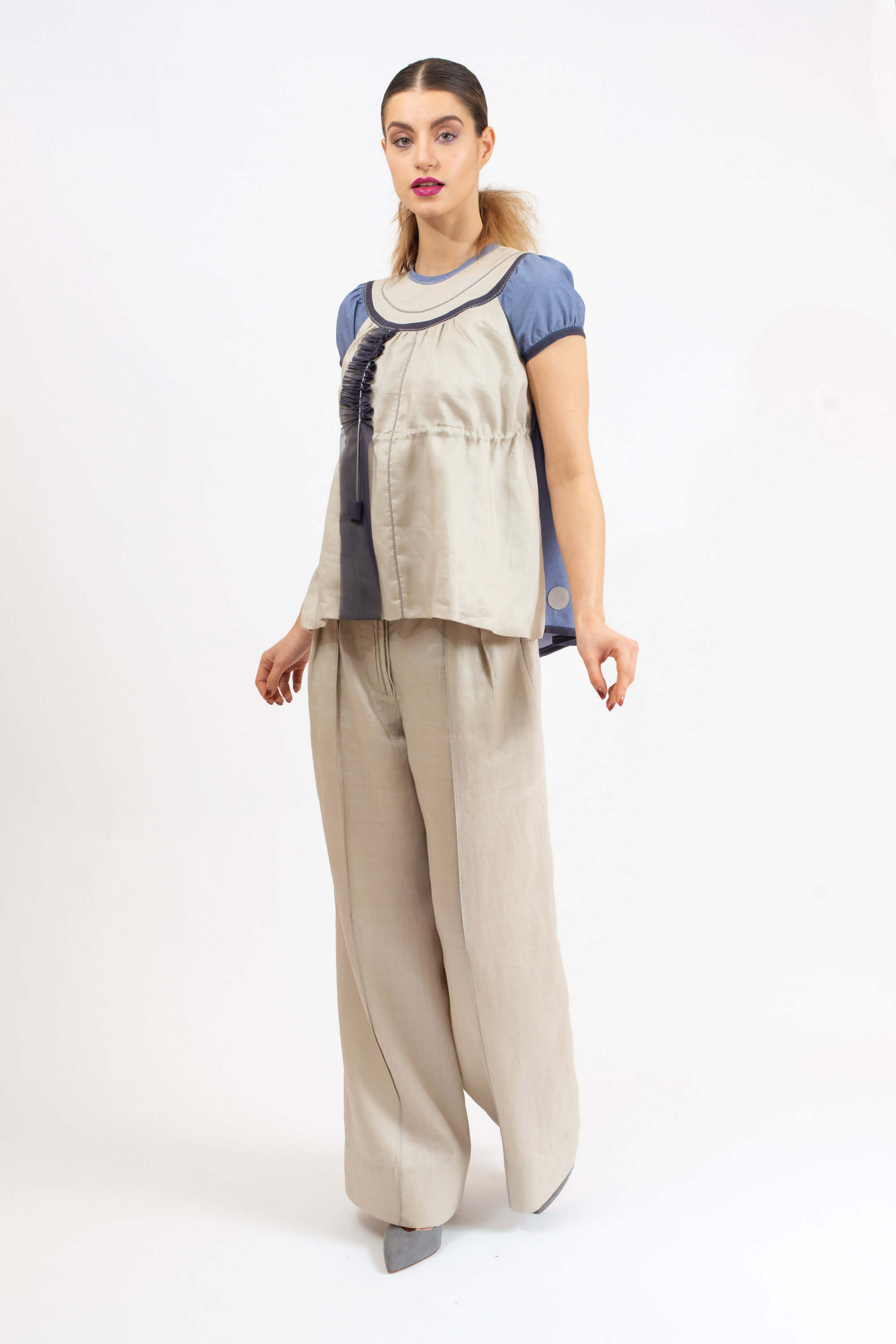 Wide legs trousers /beige