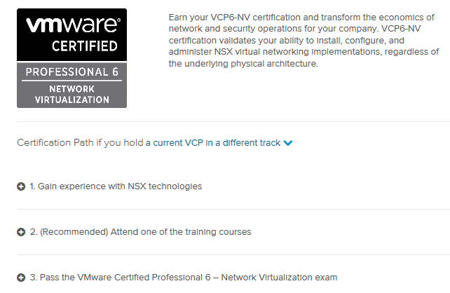 Greg Heywood - VMware VCP6-DCV, done