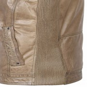 Gents-Leather-Jacket-Fawn-Rob-Side-Detail