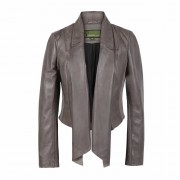 Ladies-Leather-Waterfall-Jacket-Mink-Lily