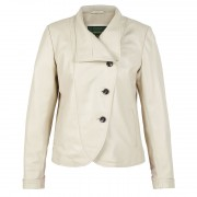 Ladies-leather-jacket-cream-Flo