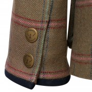 Womens Welby 127 tweed coat cuff detail