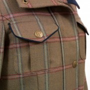 Womens tweed coat chest pocket detail Welby 127