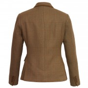 Ladies Kelso tweed blazer 120 bavk image