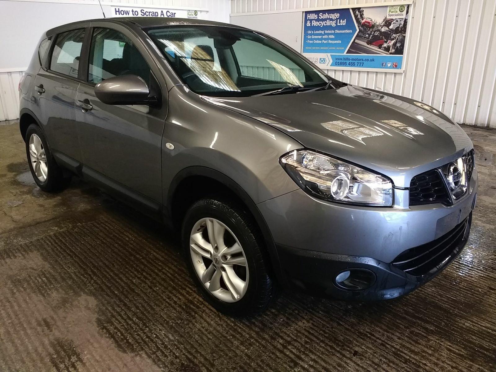 Second Hand Used Car Parts Online Hills Salvage Recycling Ltd Nissan Spescial Order By Request Qashqai