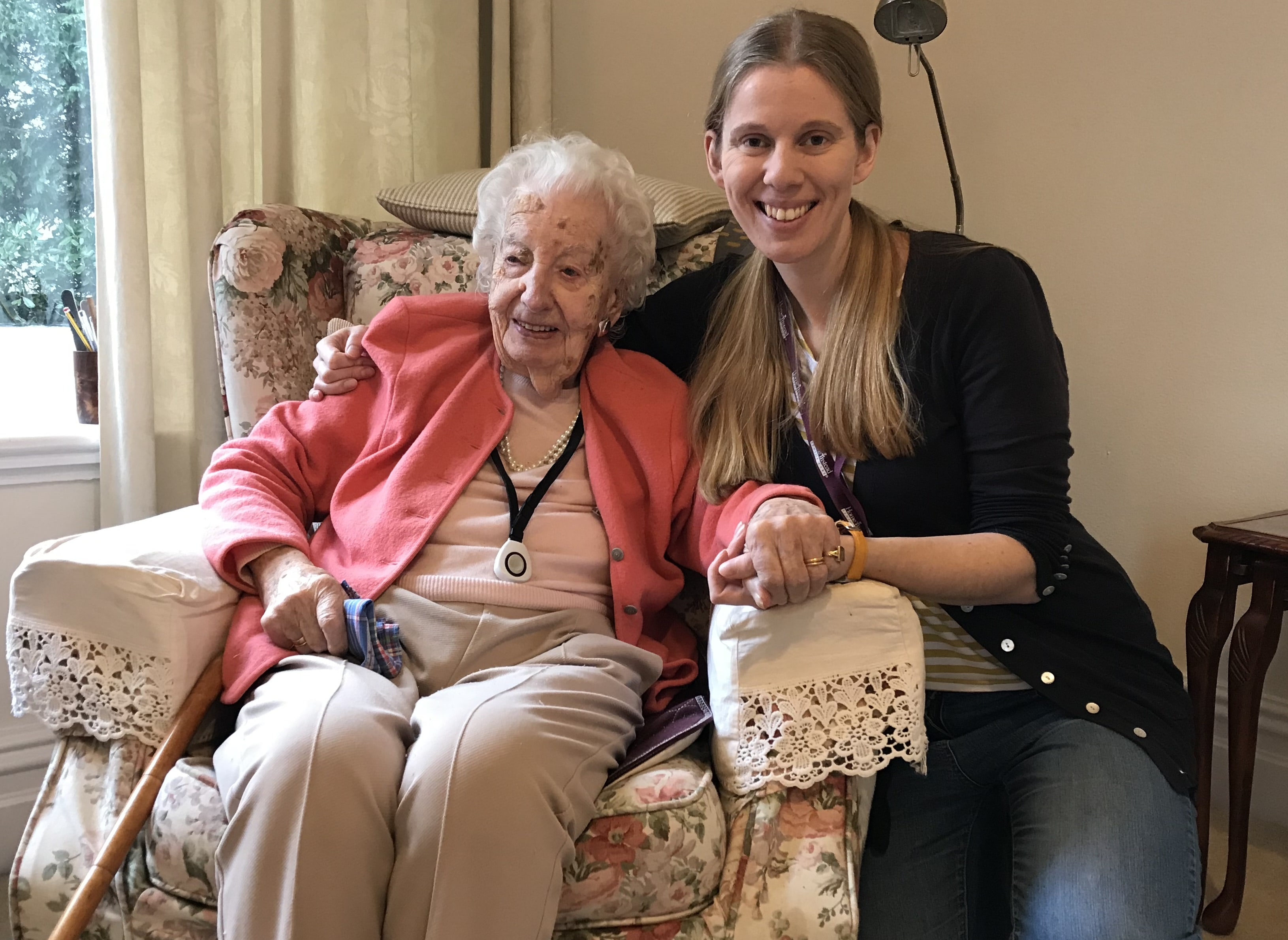 CAREGiver, children's author and knitting pro – all in a day's work
