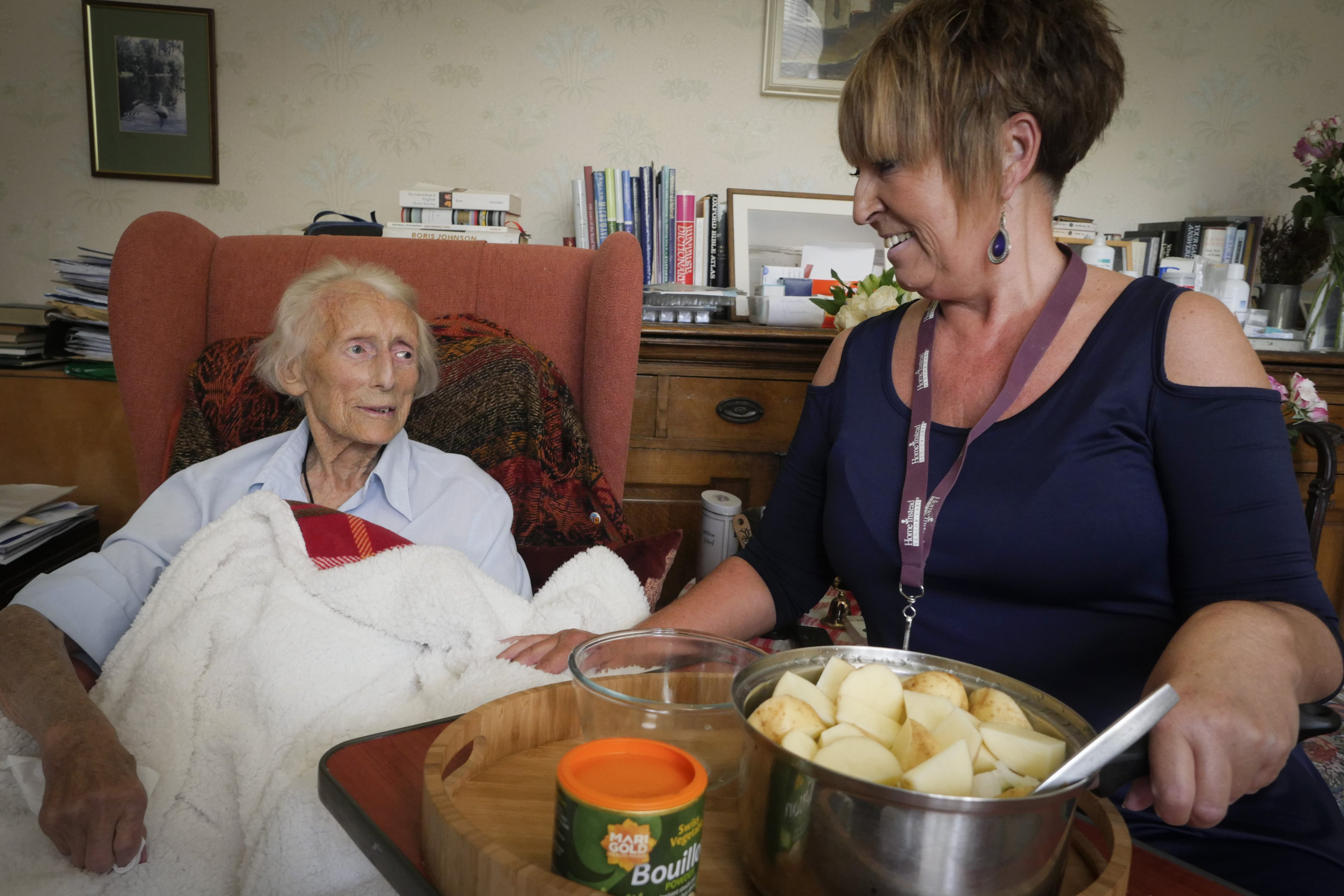 The Newcastle Soup Lady reigniting a passion for food among older people