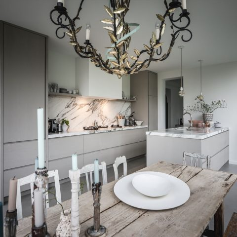 Luxury kitchen diner