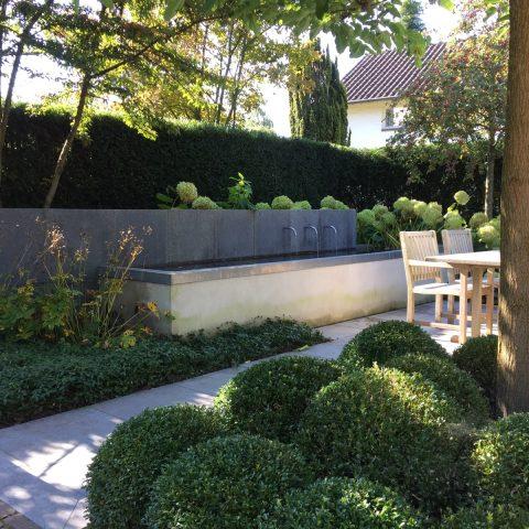 Modern small gardens