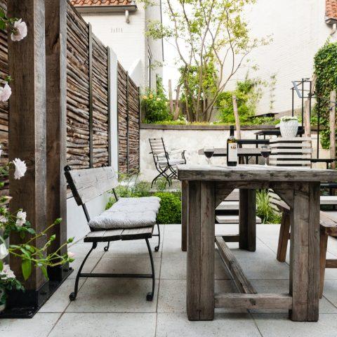 City garden in Bergen op Zoom