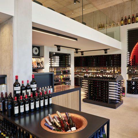 Wine shop in Antwerp
