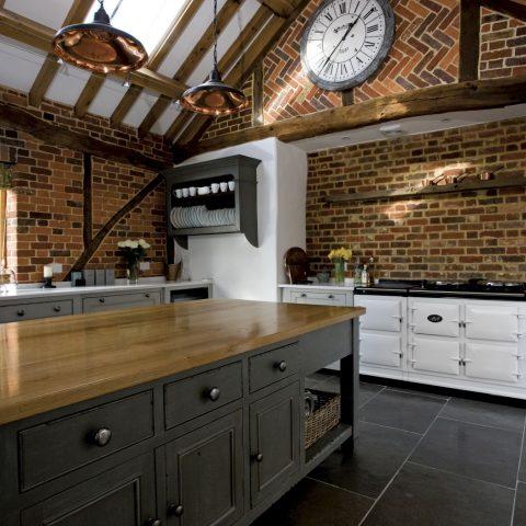 Rural AGA kitchen