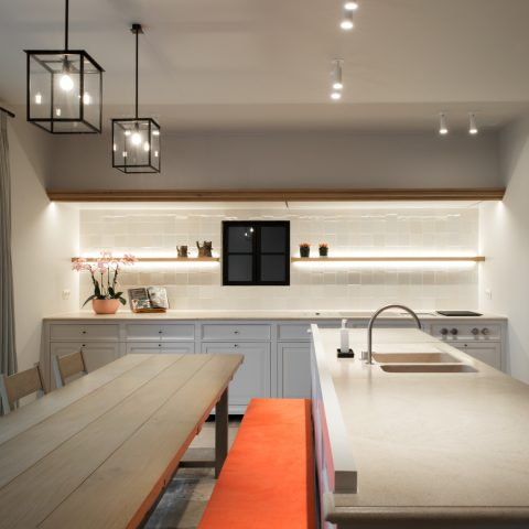 A tailor-made kitchen