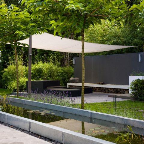 Villa garden Alphen aan de Rijn