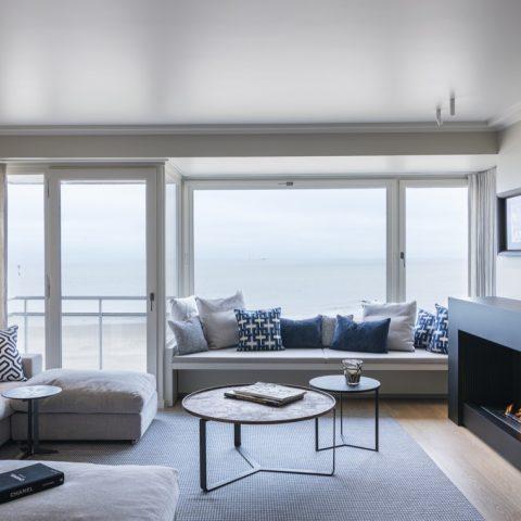 Exclusive interior apartment Zeedijk Knokke