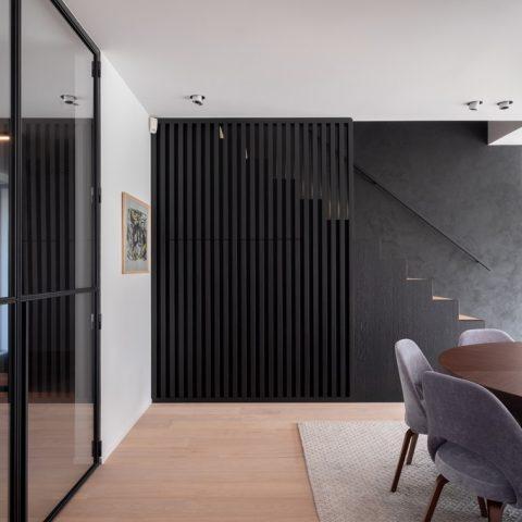 houten vloer in project ism Kurt Wallaeys