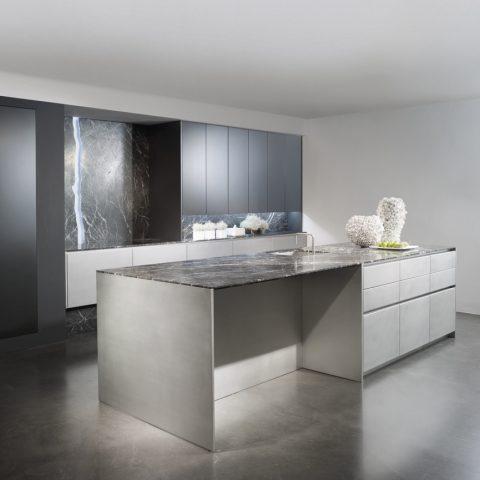 Eggersmann stainless steel matt lacquer