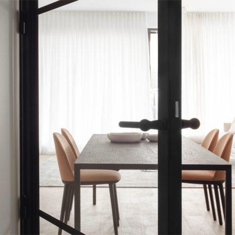 STEELIT® Modern 3 stalen binnendeur project Turnhout