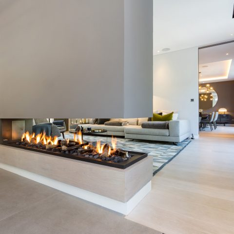 2000TS Room Divider Double Sided Fireplace