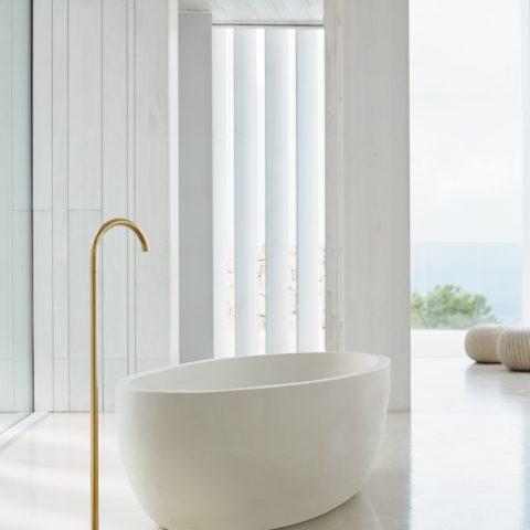 Luxury golden taps