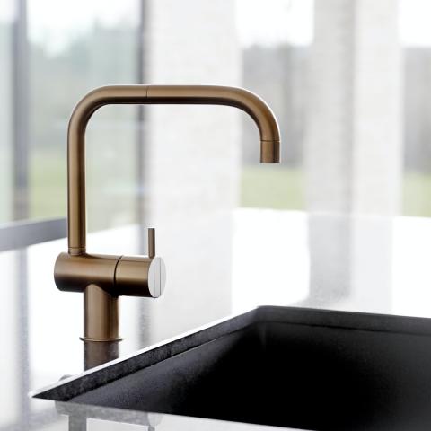 Sleek tap design
