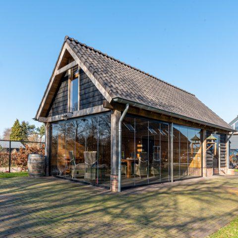 Glazen draai-/vouwsysteem, Sint-Oedenrode
