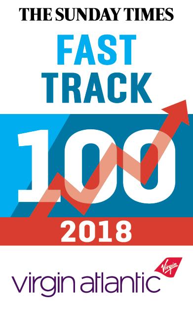 XL Displays Winner The Sunday Times Fast Track 100 2018