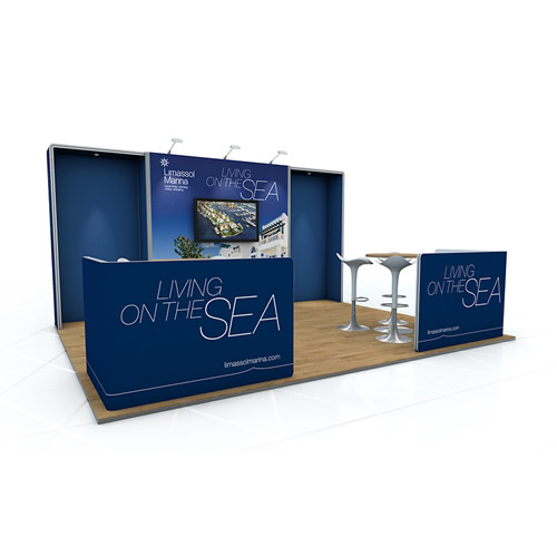 Exhibition AV Display Stands