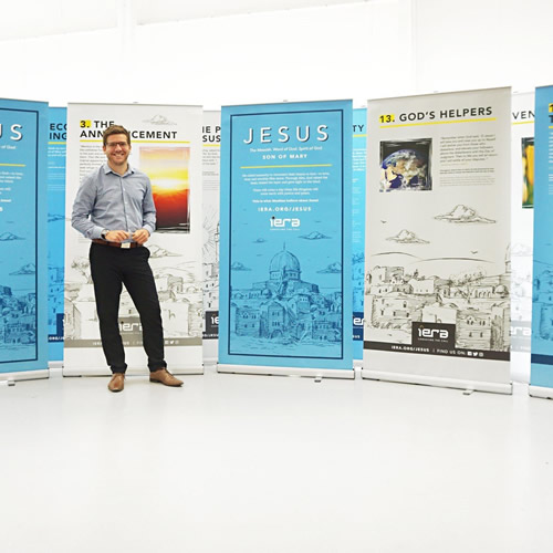 Single-Sided Pull Up Banners