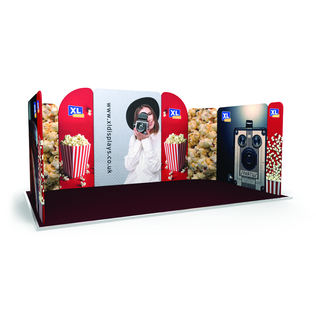 Modulate Fabric Exhibition Stands