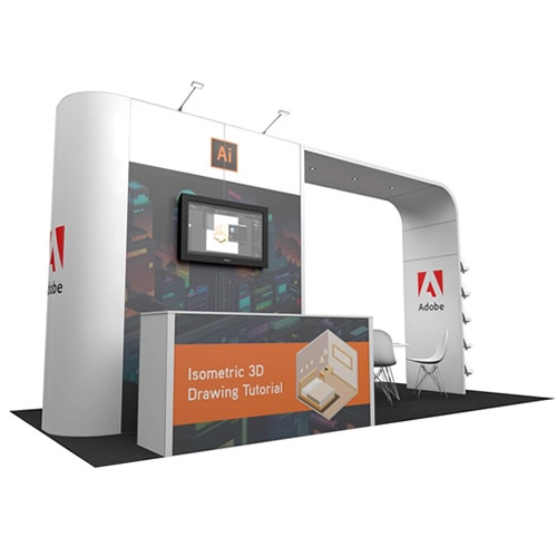 Integra<sup>®</sup> Exhibition Stand 6m x 3m Island Kit 22 - To Hire