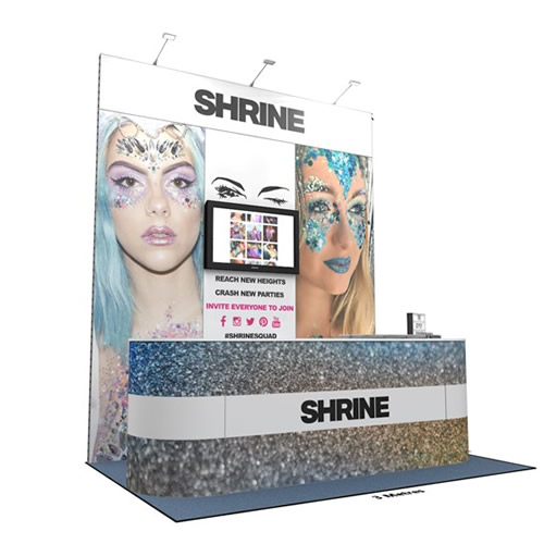 Integra<sup>®</sup> Exhibition Stand 3m x 2m Backdrop Kit 6 - To Hire