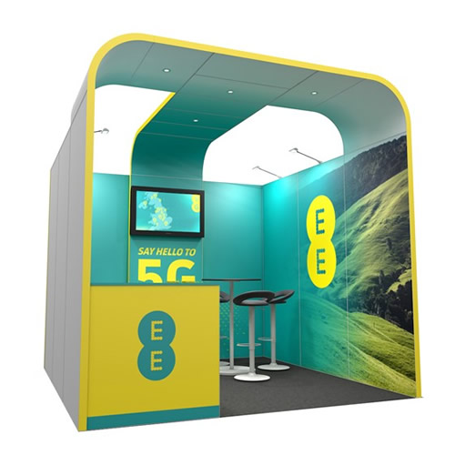 Integra™ Exhibition Stand 3m x 3m Booth Kit 8
