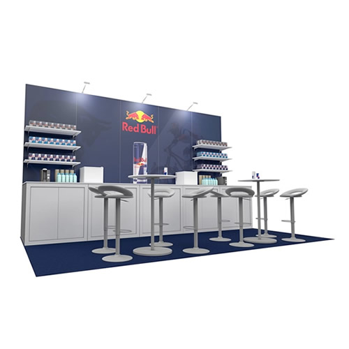 Integra™ Exhibition Stand 5m x 3m Backwall Kit 41