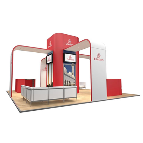Integra<sup>®</sup> Exhibition Stand 7m x 7m Island Kit 32 - To Hire