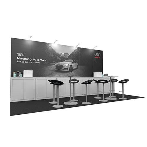 Integra<sup>®</sup> Exhibition Stand 6m x 3m Backdrop Kit 42 - To Hire