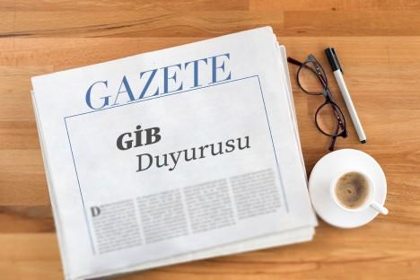 GİB, e-Defter Bilgilendirme Duyurusu yayımladı