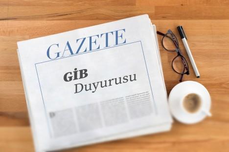 GİB Portal ile bilgilendirme yayımlandı