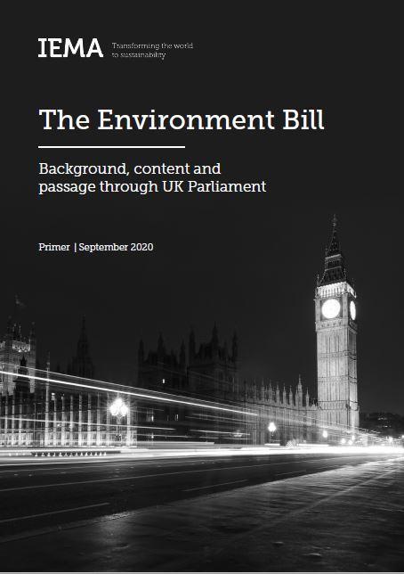 Environment Bill- IEMA Primer Sept 2020