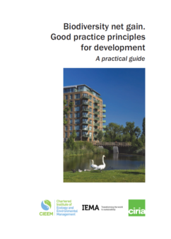 Biodiversity net gain Good practice principles for development A practical guide Front cover