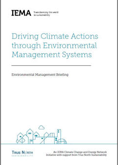 Driving Climate Action front cover