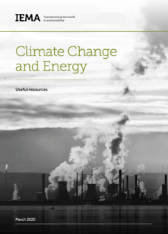Climate Change and Energy useful resources