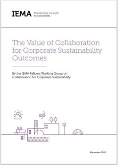Value of collab Front Cover