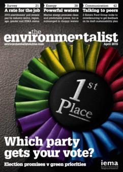 Environmentalist April 2015