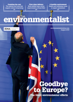 Environmentalist August 2016