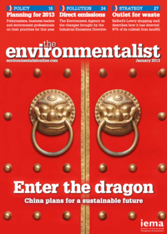 Environmentalist January 2013